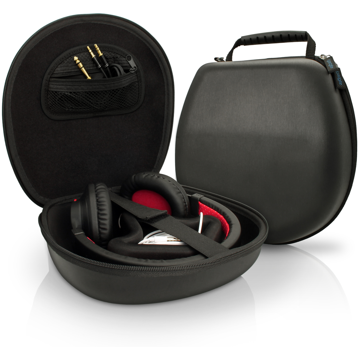 Black EVA Carrying Hard Case Cover for Headphones Headset Featured Image