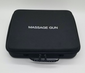 High quality Hard EVA Carrying case for Massage Gun
