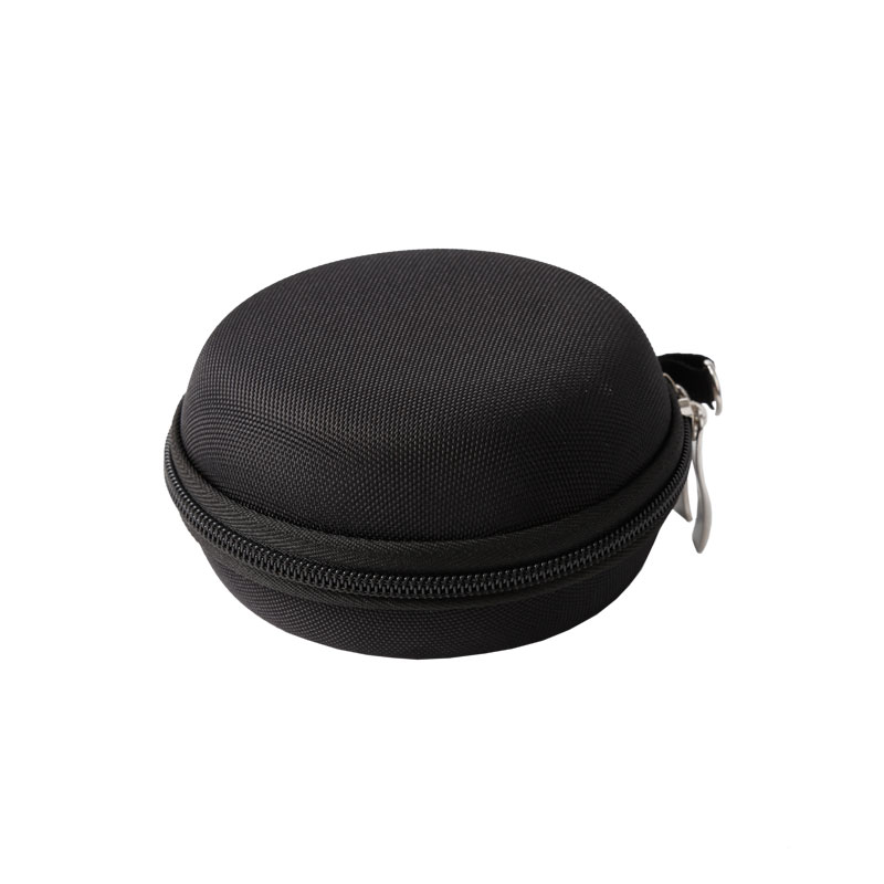 Chinese wholesale Personalized Custom Cosmetic Bag - Round Shape Carrying Hard EVA Case for Earbuds Earphone  – H&X
