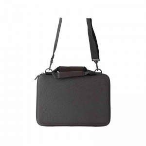 Black EVA Hard Cover Carry Case with Hand Strap & Detachable Shoulder Strap for tablet