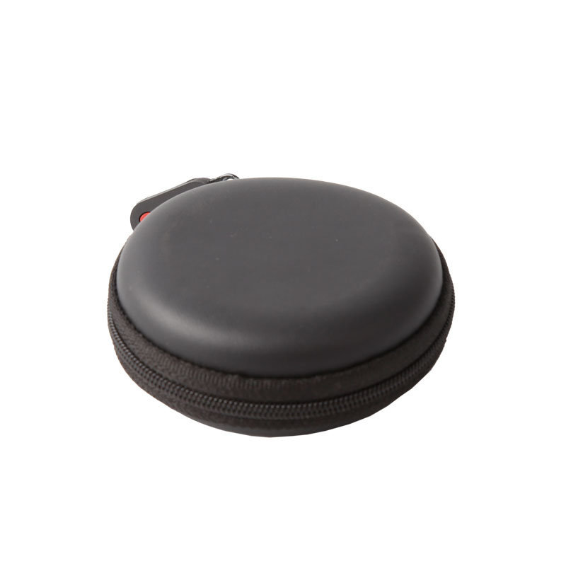 OEM Manufacturer Felt Laptop Case - Round Shape Carrying Hard EVA Case for Earbuds Earphone  – H&X Featured Image
