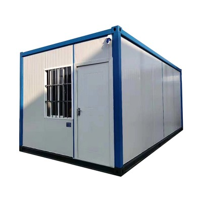 Manufacturer for Container Flat Pack - two story prefab house social housing container house – Yixi