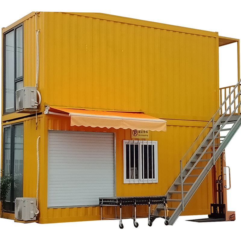 Hot-selling Prefabricated Luxury Villa - Steel frame building prefab house expandable Shipping Container House – Yixi