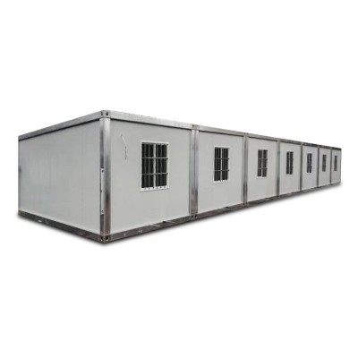 High Quality for Easy To Install On Site Fabricated Container House - 5 bedroom insulated modular home prefab house – Yixi