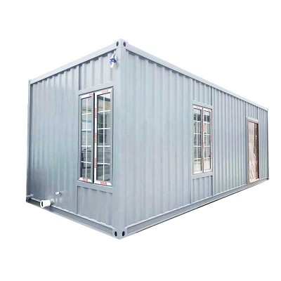 OEM Customized Container Modular Prefab 20 House - Shanghai prefab house Use 40ft expandable cabin – Yixi