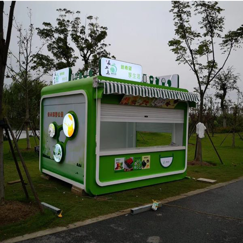 Chinese Professional 40ft Expandable Modular Homes - Kiosk – Yixi detail pictures