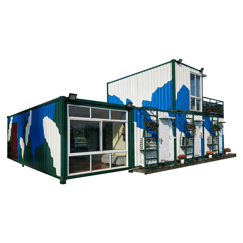 Super Lowest Price Prefabricated Site Office - ready prefabricated family house modular homes house – Yixi