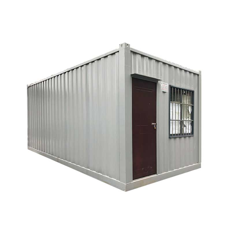 factory Outlets for Quick Install Container Homes Prefabricated Camp House - Shanghai prefab house Use 40ft expandable cabin – Yixi