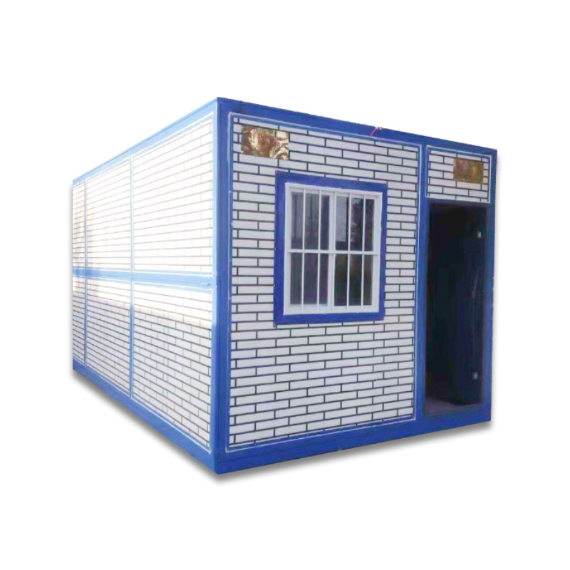 Cheap price Office Cabins - mobile building steel container cheap ready made house with modular toilets – Yixi