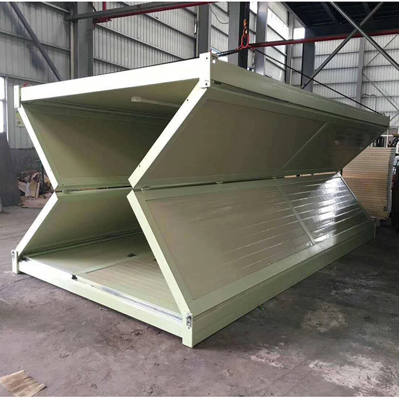Manufacturing Companies for Temporary Site Office - fodable container house – Yixi