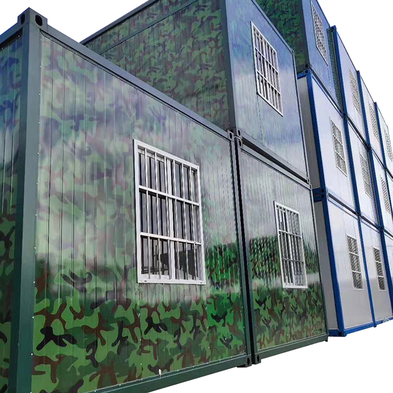 Hot Selling for Prefab Container Homes - glass prefabricated steel prefab house – Yixi detail pictures