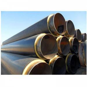 Polyurethane foam filled insulation steel pipe