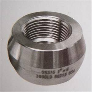 ASTM F5/F9 alloy steel threadolet