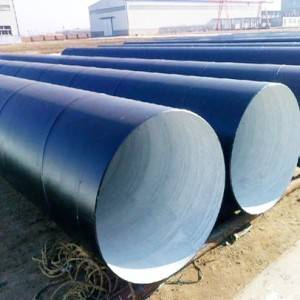 PE Coated Oil Pipeline SSAW Anti Corrosion Steel Pipe