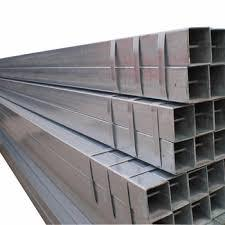 Trade Assurance Carbon Steel Square Pipe Galvanized Rectangular Tube