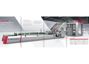 Hrb 1450g Intelligen High Speed Flute Laminator Machine
