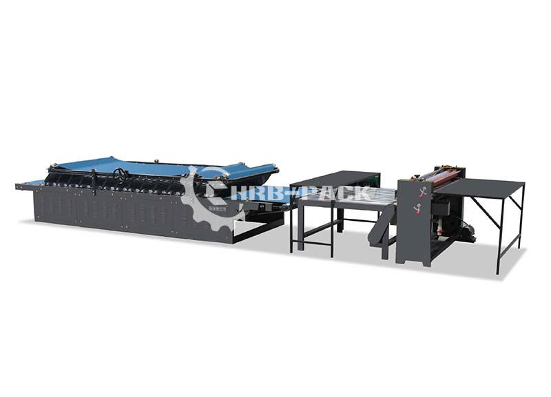 HRB-C Manual Flute Laminator Machine