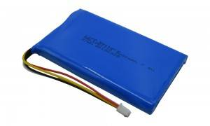 china rechargeable 7.4v 5000mah lithium ion battery hrl1261110