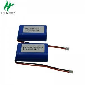 electrica equipment18500 1000mah 2s1p 6.4v lifepo4 battery packs for Automotive products