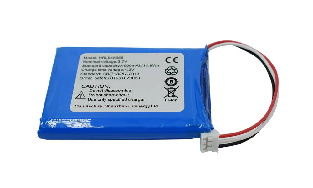Hot sale 3.7v Li-Polymer Battery -