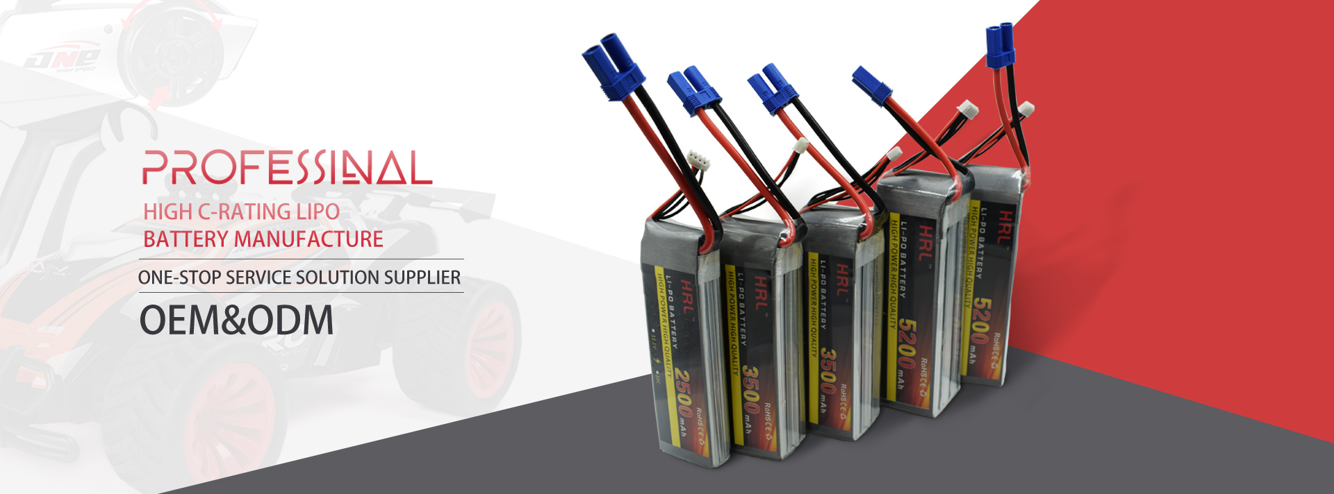 High Discharge C rating Lithium Polymer Battery 10C 15C 20C 25C 30C 40C 60C 80C