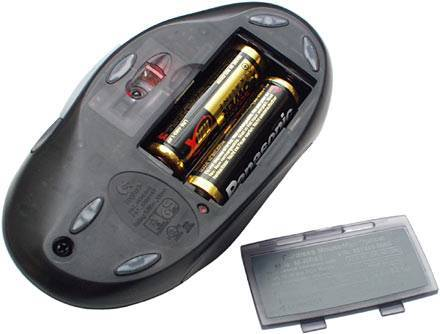 wireless mouse battery guide