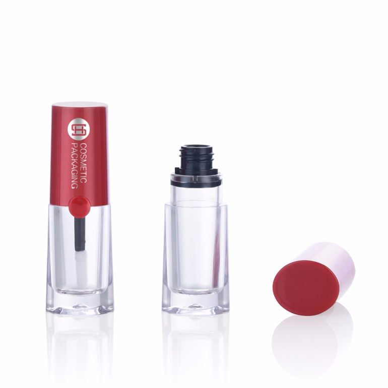 Empty lip gloss container liquid lipstick packaging with private label