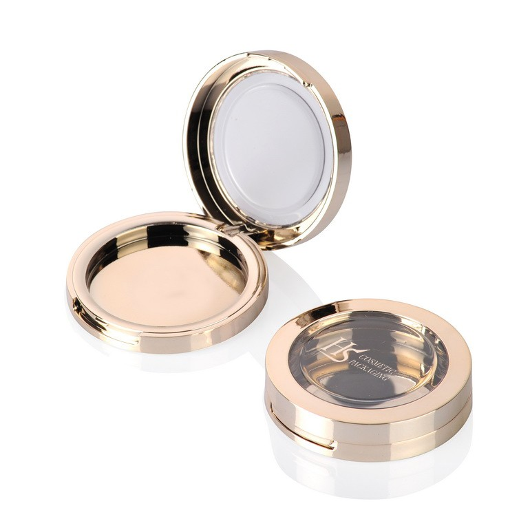 Wholesale square gold plastic empty lip gloss tube container