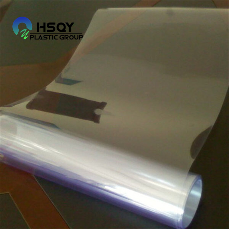 Super Lowest Price Metalized Polyethylene Film - PVC Film For Blister – Huisu