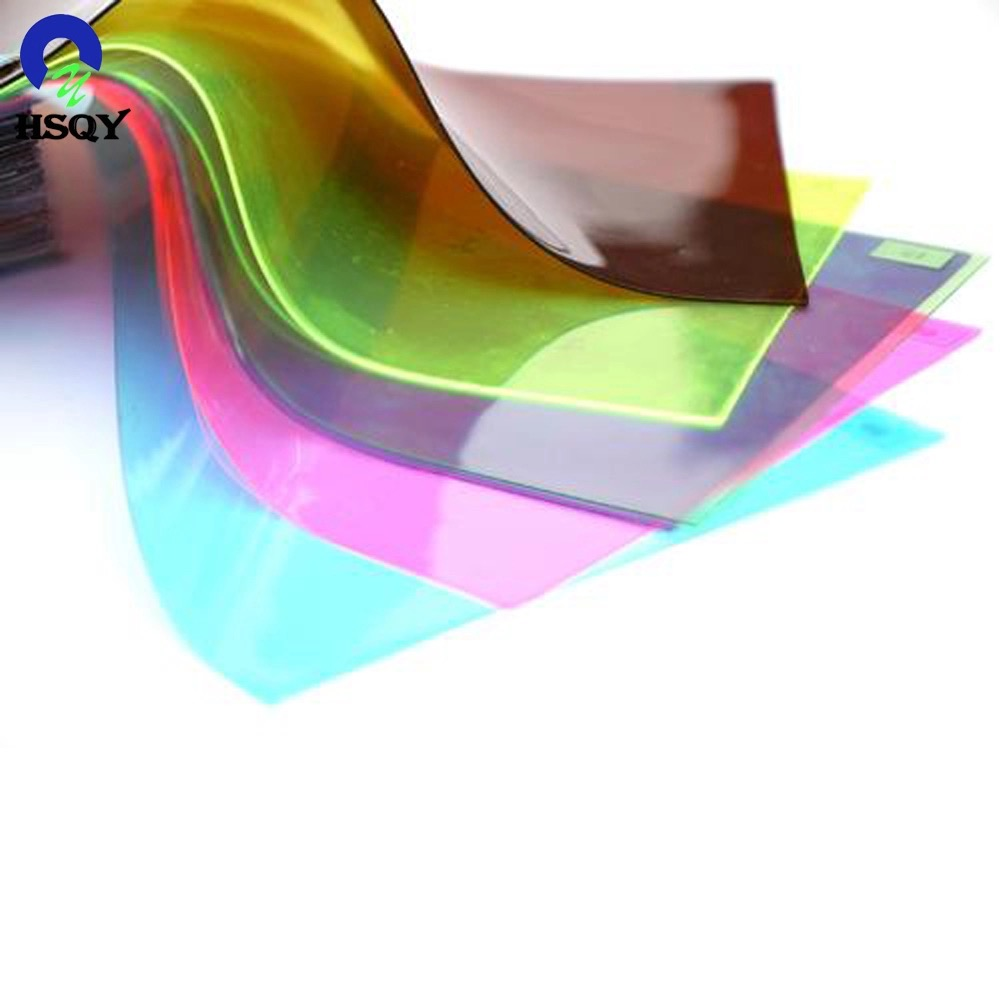 Factory making High Density Pvc Sheet - Colored PVC Flexible Film – Huisu detail pictures