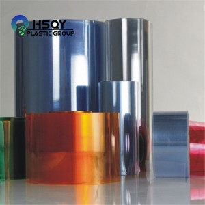 Factory source Pp Plastic Sheet - PVC Rigid Clear Film in Roll – Huisu