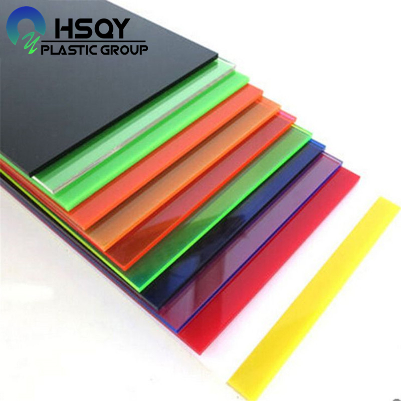 Fast delivery 0.1mm Super Clear Matt Embossed Pvc Film - Acrylic Colored Sheet – Huisu