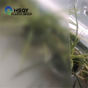 Best Price for Black Pvc Sheet - Grain / Glossy Clear PVC Sheet – Huisu