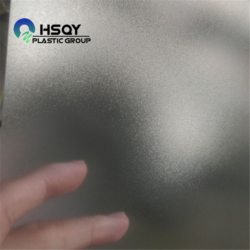 PriceList for Flexible Pvc Sheet Roll - Grain / Glossy Clear PVC Sheet – Huisu detail pictures