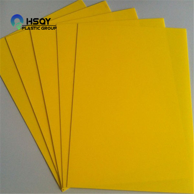 Personlized Products Self Adhesive Pvc Sheet - PVC COLOERD SHEET – Huisu