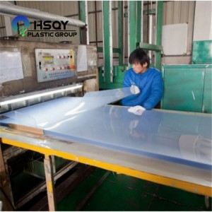 PVC Rigid Transparent Sheet with Both Masking