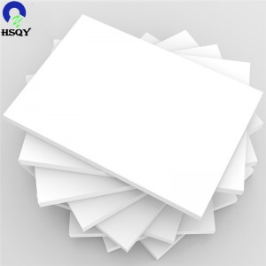 Factory wholesale Pvc Free Foam Board - White PVC Foam Board Cut To Size – HSQY PLASTIC GROUP – Huisu