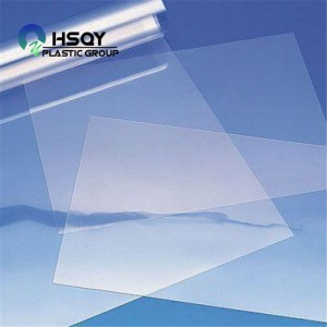 Factory wholesale Pvc Sheet 8mm - PVC Film For Blister – Huisu