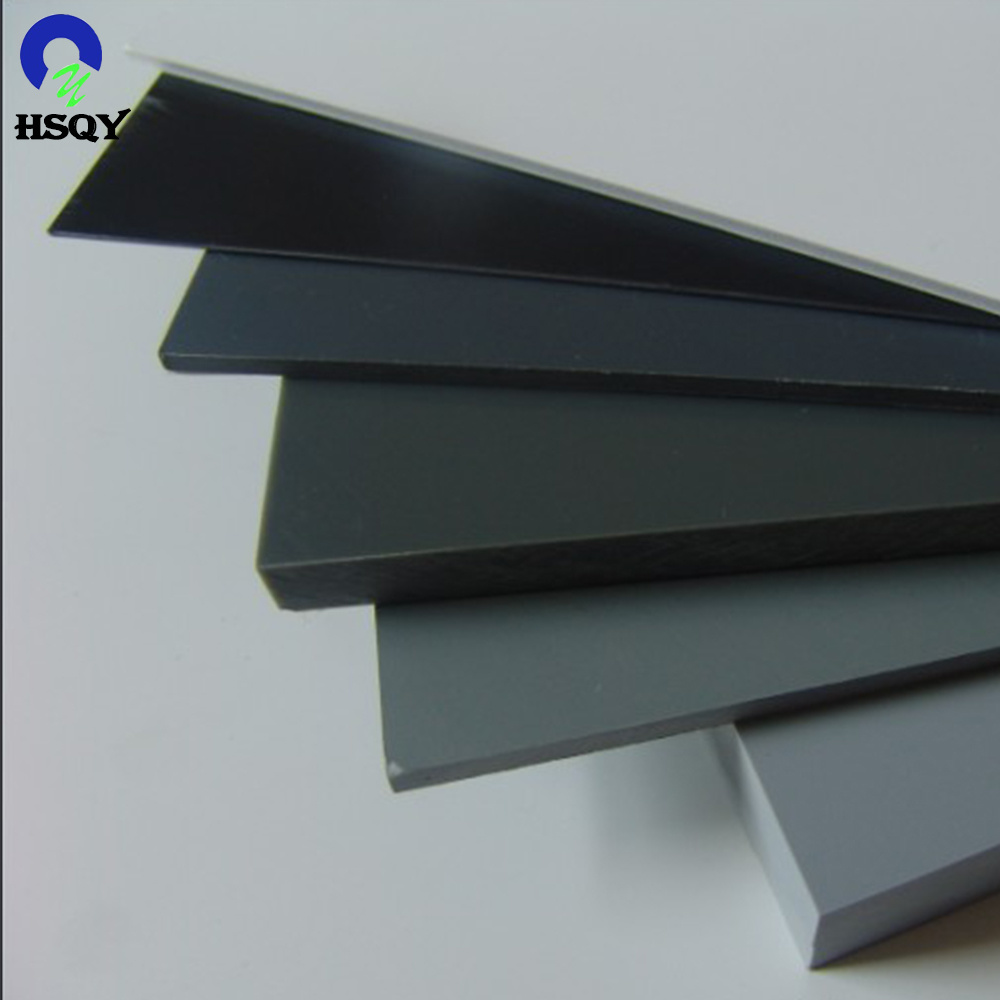 Our pvc grey board and pvc transparent board