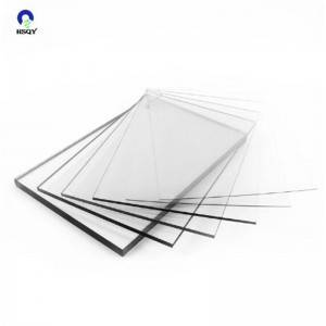 Best quality Pvc Cover Plastic Sheet - Die Cut Anti-Fog Pet Rigid Sheet for Face Shield – Huisu
