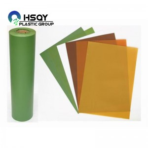 Factory directly Grey Pvc Sheet - PVC Film For Christmas Tree – Huisu