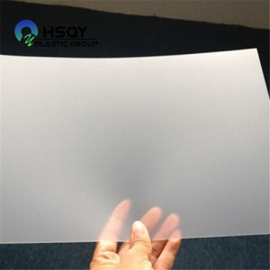 Chinese wholesale Anti Static Plastic Sheet - PVC Binding Cover – Huisu