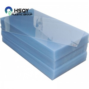 Wholesale Price China Clear Transparent Plastic Sheeting - PVC Rigid Clear Sheet (0.21-6.5mm) – Huisu
