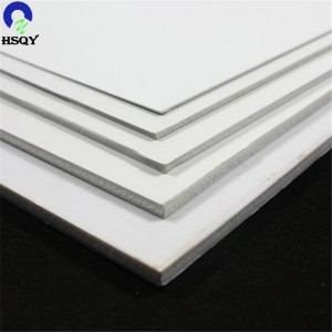 Fixed Competitive Price Flexible Transparent Pvc Sheet - PVC Free Foam Sheet – Huisu
