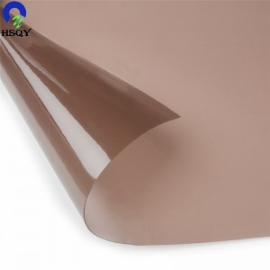 Factory Supply Decorative Plastic Sheets - Colored PVC Flexible Film – Huisu