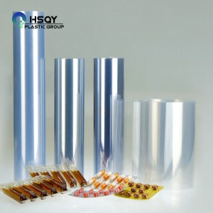 Factory For 0.5mm Pvc Sheet Frosted - PVC Film For Pharmaceutical Package – Huisu