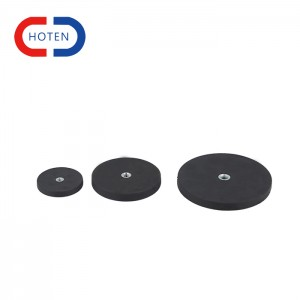 Rubber Magnet With Flat Thread