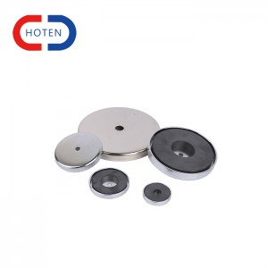 Neo Round Base Magnet With Protective Cover