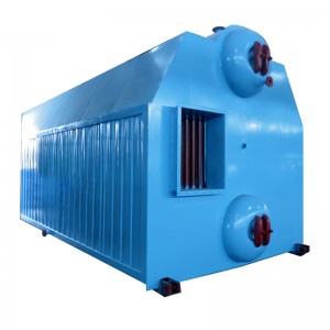 SZL chain grate burning biomass boiler