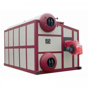 SZS series oil/gas steam boiler